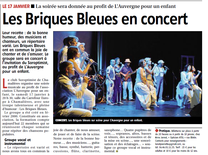 ARTICLE La montagne 06012015